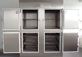 Kühlzelle mit Türen